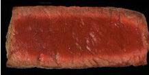 Tingkat kematangan steak rare