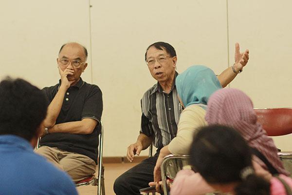 Generasi ke 4 pendiri Kelenteng Satya Budhi