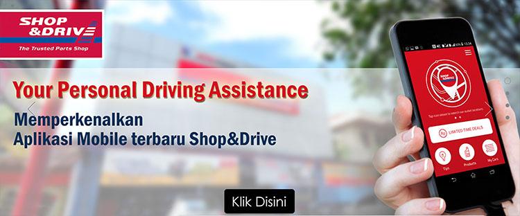 shop&drive, aki mobil, layanan antar aki mobil