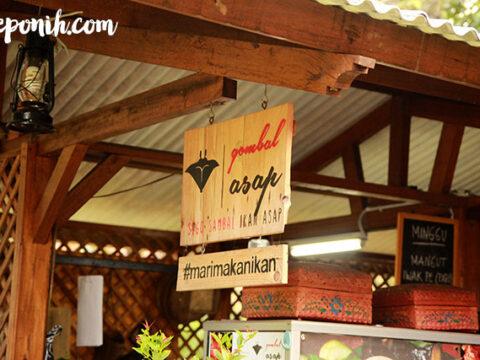 gombal asap, food review, keponih.com, food blogger