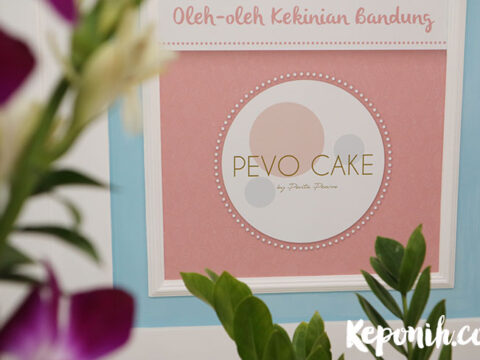 pevo cake, kue artis, pevita pearce cake , bandung kuliner