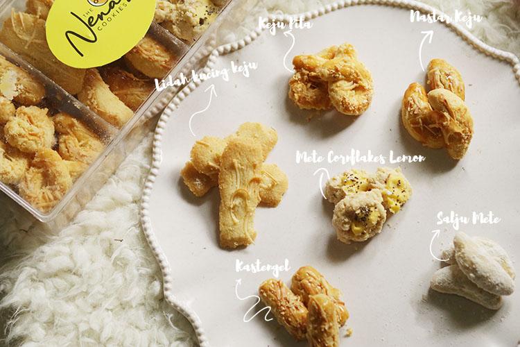 nenasz cookies. cookies sehat, cookies enak, cookies lebaran