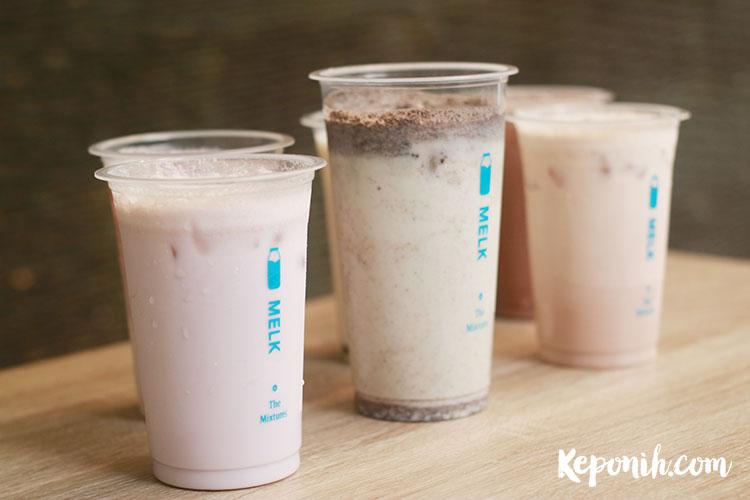 melk the mixtures susu aneka rasa - keponih.com