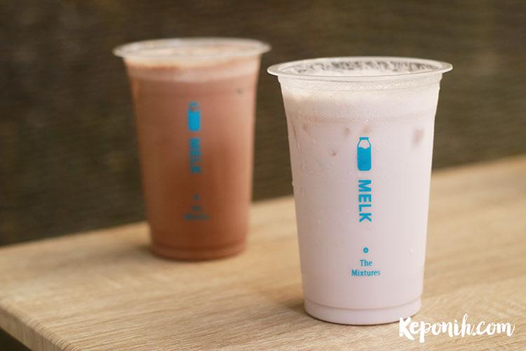 minum susu aneka rasa di Melk - www.keponih.com