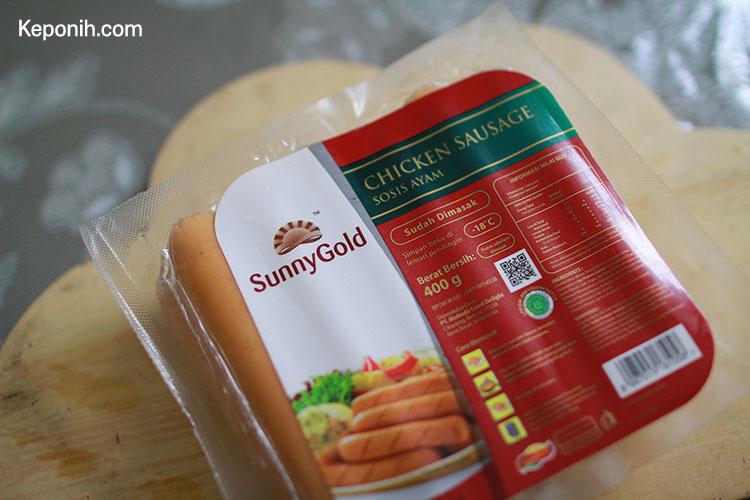 sosis ayam sunnygold merupakan sosis ayam yang memiliki citarasa yang enak dan sangat terasa daging ayamnya