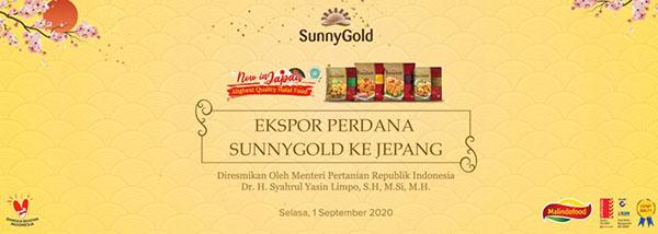 sunnygold mengantongi predikat halal dan bisa ekspor ke Jepang untuk pertama kalinya